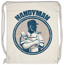 Handyman II Turnbeutel Heimwerker Handwerker Handwerk Hammer Werkzeug