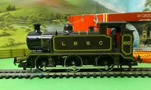 Hornby R315 LBSC Class E2 0-6-0 Tank Loco brown boxed OO (j)