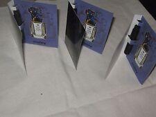 Sisley Paris 3 Eau du Soir Parfum Spray LOT 3 SIZE 1.6 ML EACH NEW
