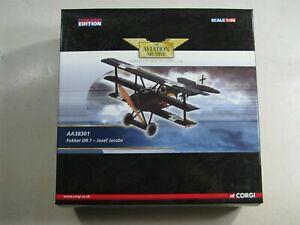 618  Corgi Aviation Archive AA38301 Fokker DR.1 - Josef Jacobs 1:48