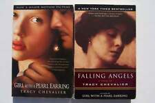 Tracy Chevalier Falling Angels & Girl with a Pearl Earring Paperback Book