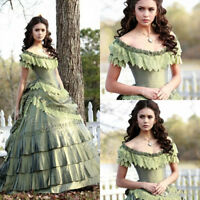 Vampire Diary Gothic Ball Wedding Dresses Bridal Party Bridal Evening Prom Gowns
