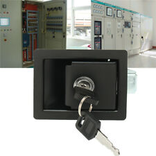 RV Car Paddle Entry Door Lock Latch Handle Knob Deadbolt Camper Trailer + Keys