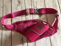 NATHAN Pink Running Belt, Adjustable, No Bottle - NWOT!
