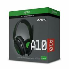 Casque Gamer Xbox One - LOGITECH ASTRO GAMING A10 - Gris/Vert - NEUF