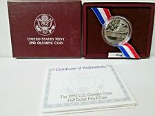 1992 US Olympic Gymnast Proof Half Dollar Commemorative Coin
