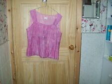 ***LOOK*** LIBRA PINK  DETAILED BLOUSE  SIZE 16 ***
