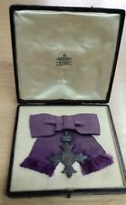 Gerge V Most Excellent Order of the British Empire Badge, MBE Medal & Org Box