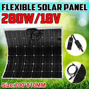 Monocrystalline 280W 18V Highly Flexible Solar Panel Tile Mono Panel Waterproof