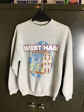 Rare Vintage West Ham Sweater Shirt Late 1980's Early 1990's Size Small KT Sport