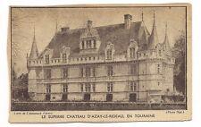 le superbe chateau d'azay-le-rideau ,en touraine