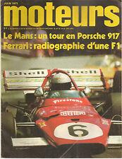 MOTEURS 87 1971 24H MANS FIAT 124 COUPE RECORD DU MONDE GP PAU MAROC TARGA FLORI