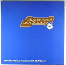 """2x 12"""" LP - Various - Dance Pool Popkomm 94 - M998 - RAR - washed & cleaned"""