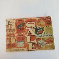 Western Auto The Family Store Mailer Catalog 1963 La Junta,CO