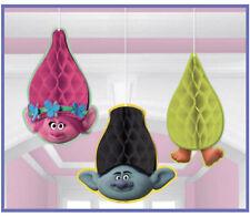 Trolls Honeycomb Balls Hanging Decoration Birthday Party Supplies Poppy Branch 3
