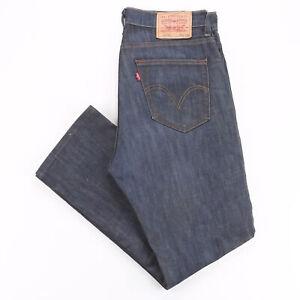 LEVI'S  Blue Denim Slim Straight Jeans Mens W34 L28