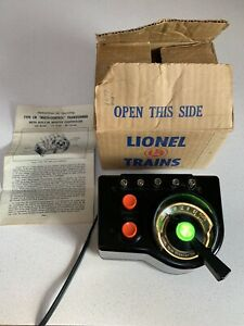Lionel Trains Trainmaster Transformer Type LW 115 Volts 60 Cycle 125 Watts NICE!