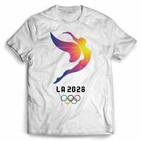La 2028 Olympic Logo T-Shirt Men Women Funny Black Vintage Gift For Men Women