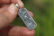 Gibeon Meteorite Jewelry Meteorite pendant #7