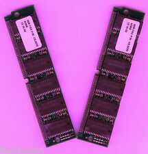 LOT 128 MB MEG 2x64MB EDO SIMM 72 pin RAM MEMORY UPGRADE 72pin 60ns 60 ns NEW A9