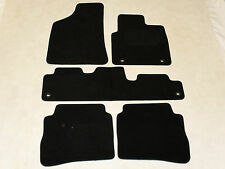 Hyundai Santa Fe MKll 2006-2009 Fully Tailored Deluxe Car Mats in Black