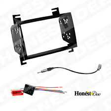 95-7326 Double-Din Radio Install Dash Kit for Elantra w/ Wires, Car Stereo Mount