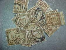 100 Used Stamps #685 4C Robert Taft
