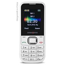 swisstone SC 230 Dual-SIM weiß GSM Mobiltelefon