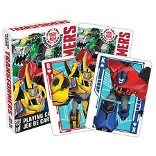 NIP Playing Cards * Transformers * Autobots Decepticons Animated Cartoon Robots
