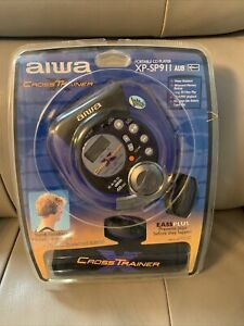 Aiwa Portable CD Player cross trainer XP-SP911 new sealed