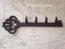 Vintage Rustic Large Key Coat Hook Shaped Key Holder Chunky Holder Decorative
