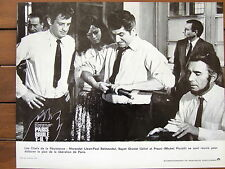JEAN PAUL BELMONDO PHOTO EXPLOITATION .LOBBY CARD PARIS BRULE T'IL ?