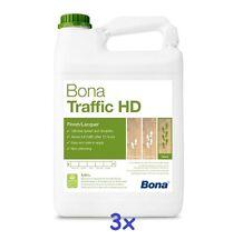 BONA Traffic HD (Silkmatt)- 3 x 4,95 L -Parkettlack 2-K * Lacquer 2-C*Lakier 2K