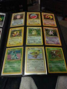 Pokemon Jungle 27 Card Lot ~ Uncommon Common Set ~ LP ~ Very Good Condition