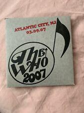 The Who Encore Series Atlantic City, NJ 03/09/2007 2 CDs