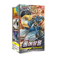 Pokemon Card Game Sun & Moon Full Metal Wall Booster Box 20p Korean Ver