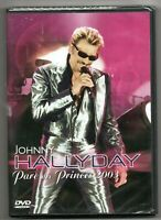 JOHNNY HALLYDAY (DVD NEUF) : PARC DES PRINCES 2003