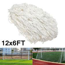12X6ft Football Soccer Goal Post Net For Outdoor Sports Training Match(Net Only)