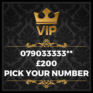 GOLD VIP BUSINESS EASY MEMORABLE EXCLUSIVE PLATINUM MOBILE PHONE NUMBER 33333