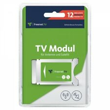Freenet CI TV Module for Antenna Dvb-t2 Dvb-s HD 12 Months Incl.