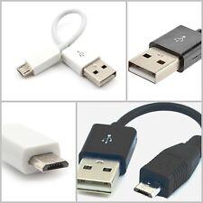 Cable de carga corto 12cm Cable datos Micro USB corto Cable de carga Smartphones