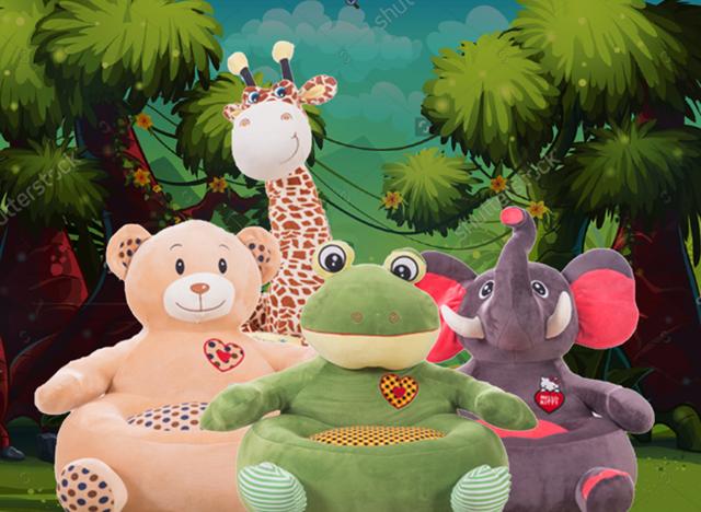 comfi-plush soft toys sofas