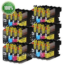 24pk Ink Cartridge For Brother LC103 LC-103 XL MFC-J470DW, MFC-J475DW MFC-J875DW