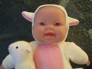 BERENGUER NEWBORN BABY DOLL.  APPROX 32CM ON LENGTH.