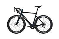 58cm 700C AERO Bike Road Disc Brake Full carbon wheels Bicycle Vehicle 700X28C