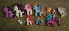 My little pony lot.  5 Plush, 9 Plastic Figures