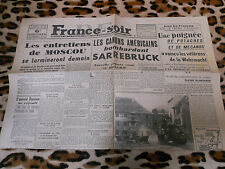 Journal - France-Soir n° 141- 06/12/1944