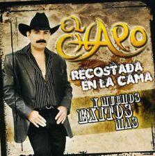 El Chapo De Sinaloa Recostada En La Cama Y Muchos Exitos Mas CD Nuevo Sealed