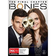 BONES-Season 12-Region 4-New AND Sealed- 3 DVD Set-TV Series