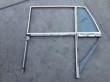 65 - 80 ROLLS ROYCE SILVER SHADOW LEFT REAR DOOR WINDOW GLASS TRACK FRAME